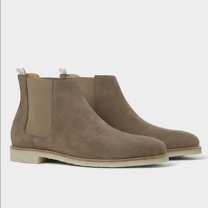 🚨last call🔥HP🔥NEW Zara Suede LEATHER boot